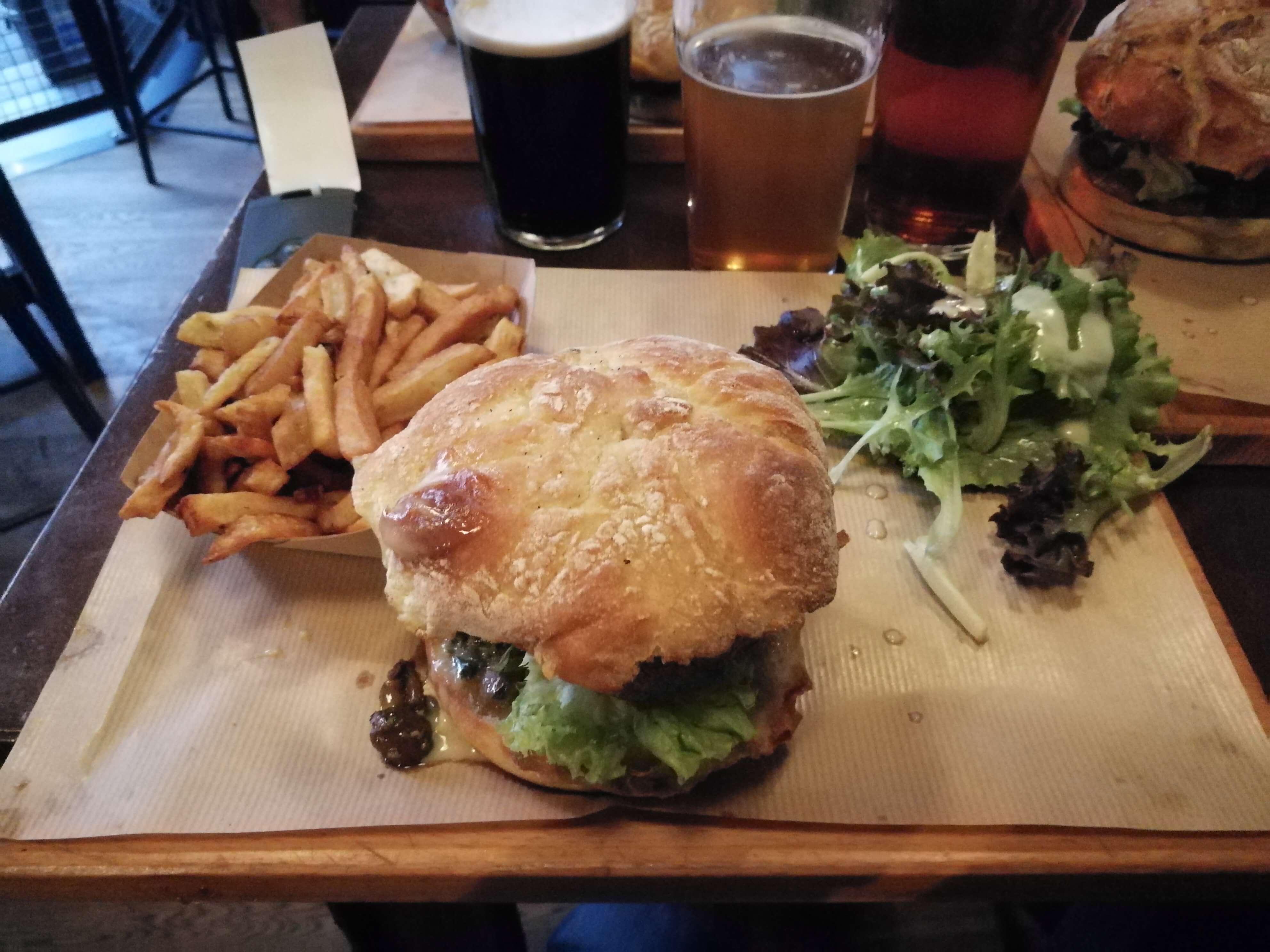 Planche burger