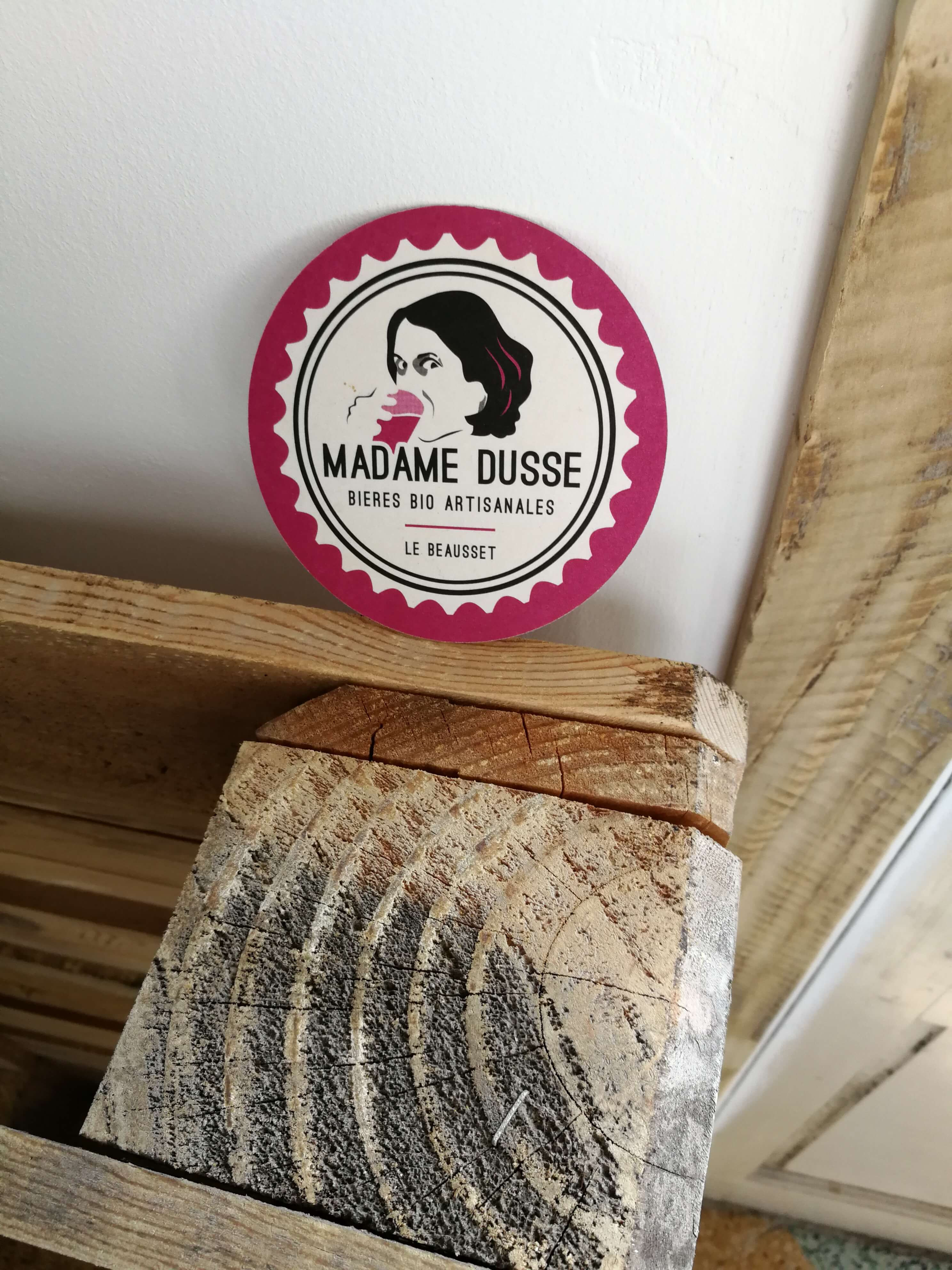 Sous-bock Madame Dusse