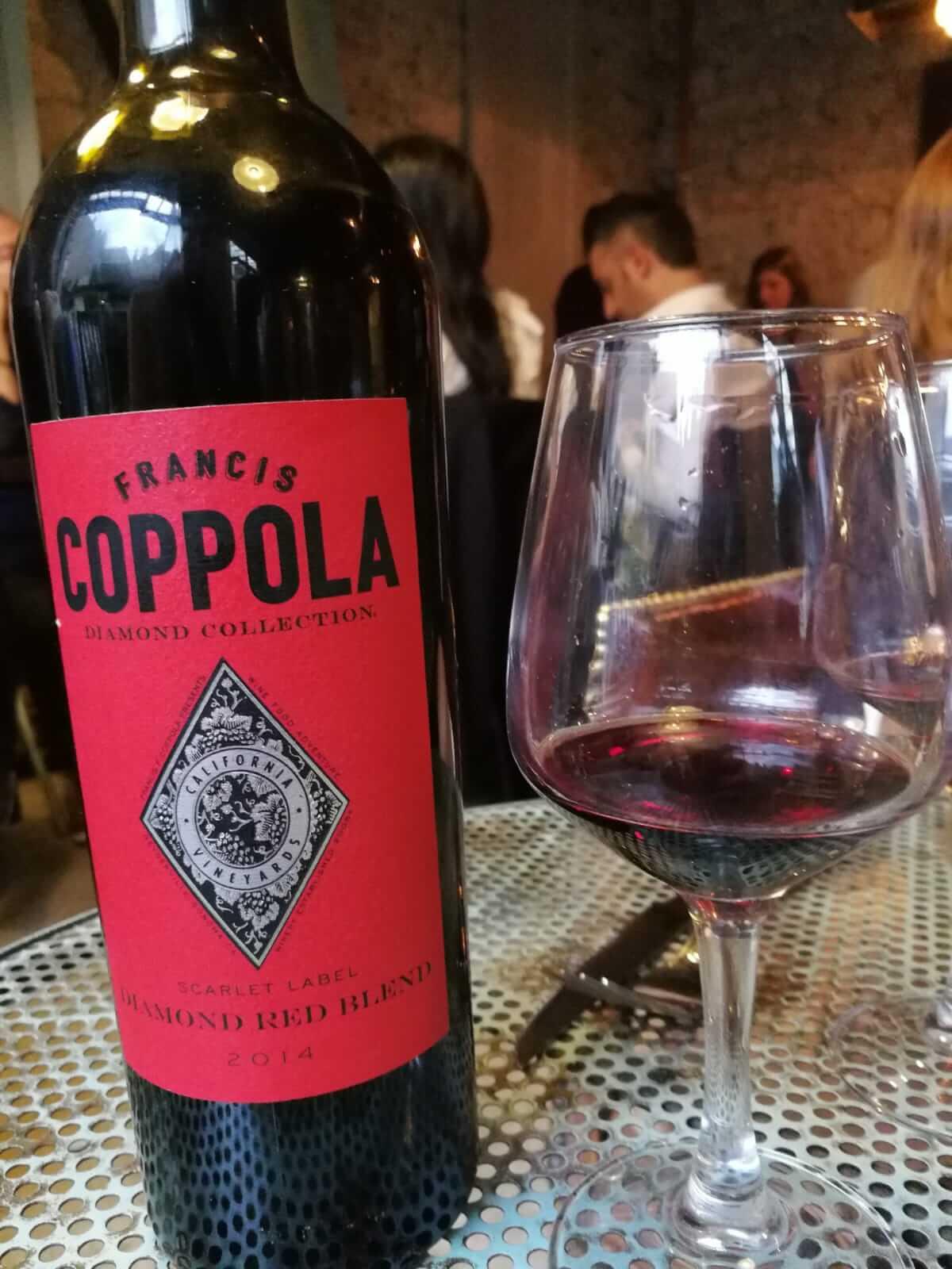 Une bouteille de Mr Coppola