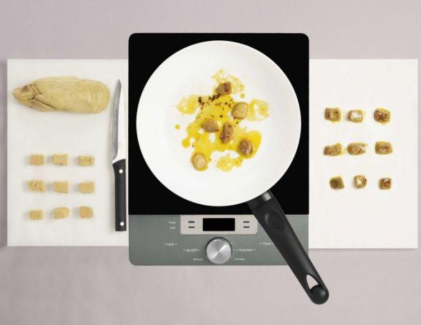 Recette de chef fr d ric simonin pr sente sa recette l 39 uf nacr mousseline de topinambours - Preparation du foie gras ...