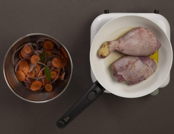 Recette de chef les plats indispensables pr sente sa - Cuisson oeuf a la coq ...