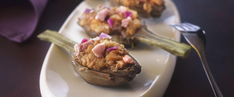 Les artichauts farcis barigoule d 39 eric sapet - Cuisiner les artichauts ...