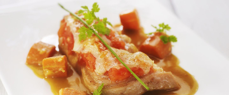 Recette de tendrons de veau brais s au fromage for Plat convivial ete