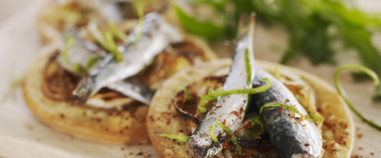 Recette de tarte l 39 oignon doux et aux sardines - Comment cuisiner des filets de sardines ...