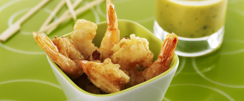 Entr e indispensable tempura de crevette sauce tartare - Cuisiner gambas surgelees ...