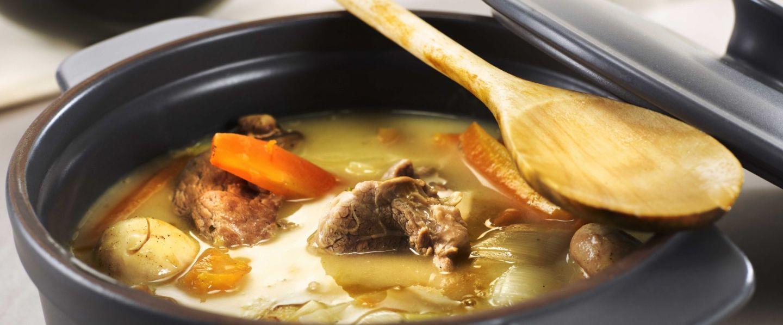 la traditionnelle blanquette de veau, la recette des chefs de l