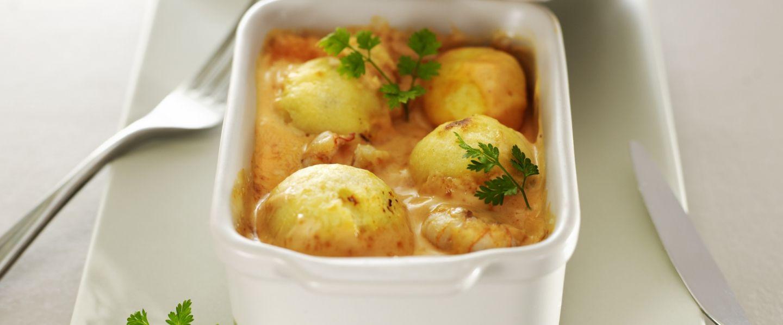 Recette de chef christian tetedoie pr sente sa recette quenelle de brochet sauce nantua et - Comment cuisiner des quenelles nature ...
