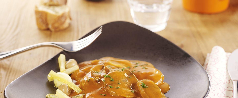 Recette de chef les plats indispensables pr sente sa - Cuisiner langue de boeuf sauce piquante ...