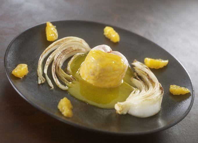 Recette de chef jean alexandre ouaratta pr sente sa recette saumon la mandarine au - Cuisson pak choi ...