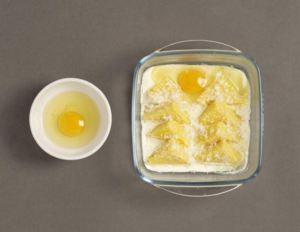 Recette de chef pascal fayet pr sente sa recette oeufs au plat fondant de polenta et morilles - Polenta cuisson au four ...