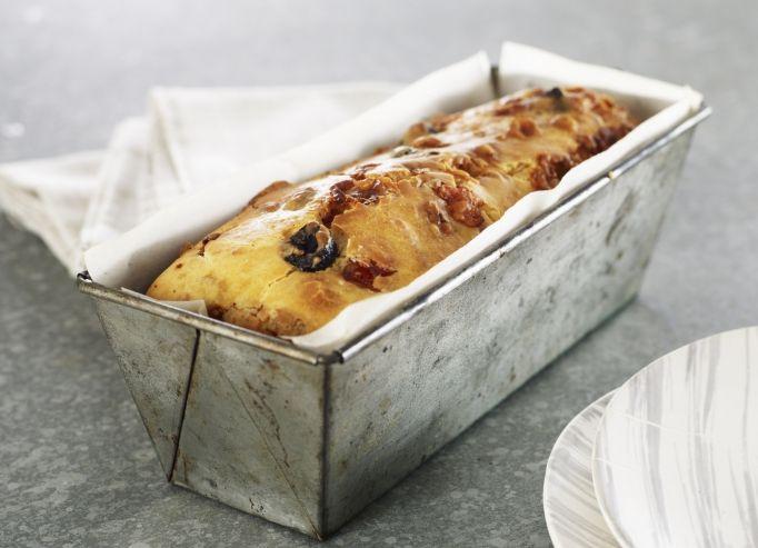 La recette des petits muffins aux lardons et aux petits pois sur likeachef - Recette cake aux olives et jambon ...