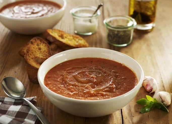 Recette de chef les entr es indispensables pr sente sa - Soupe de tomate maison ...